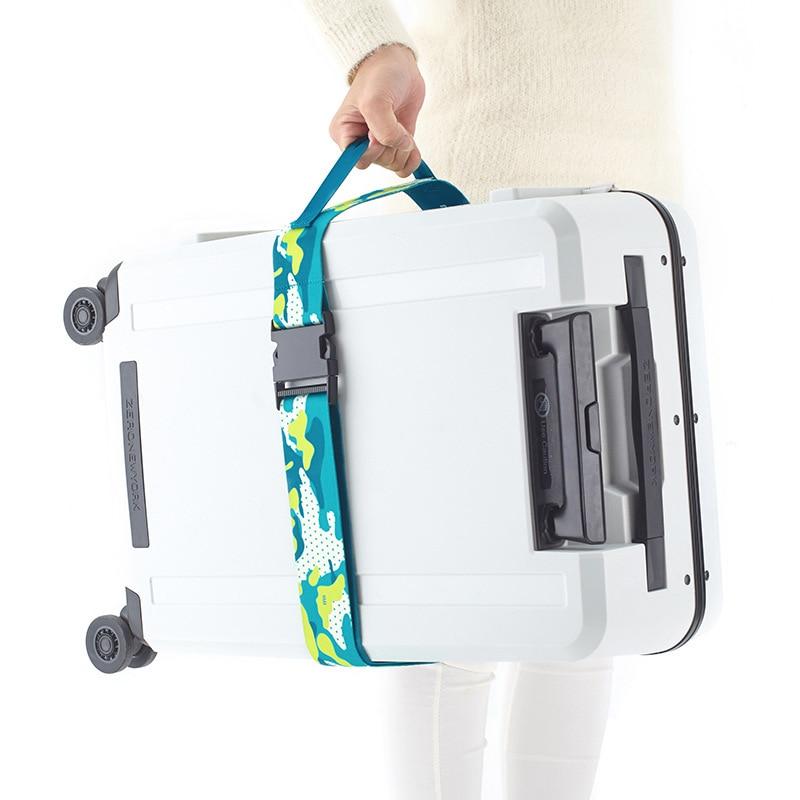 M Square - Adjustable Luggage Strap Suitcase Belts Luggage Belt Straps Flight Accessories Travel Accessories Women
