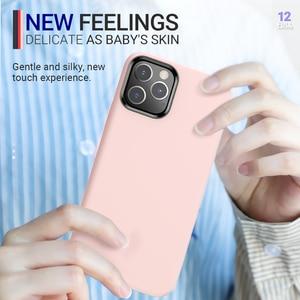 Image 3 - Hoco רך סיליקון מגן מקרה עבור iPhone 12 mini Pro 11 11Pro Max מקסימום כיסוי הגנת מעטפת סיליקון טלפון מגן צבעוני