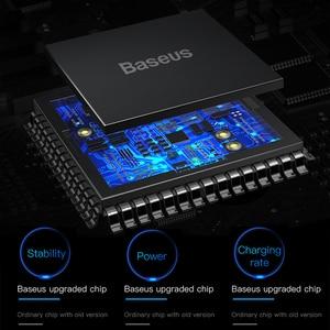 Image 4 - Baseus Qi chargeur sans fil voiture support de téléphone pour iPhone Samsung Huawei évent montage téléphone support de voiture support support voiture Accesori