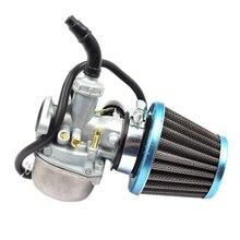 Универсальный карбюратор топливные фильтры Carb 50cc 70cc 90cc 110cc 125cc ATV Dirt Bike Go Kart W/воздушный фильтр мотоцикл Скутер дроссель