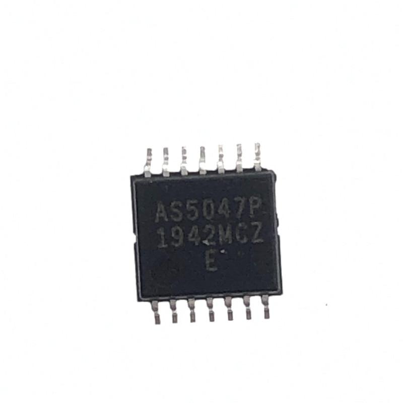 Магнитный кодировщик AS5047P SSOP14 AS5047 5047, 2 шт.-10 шт., новый и оригинальный