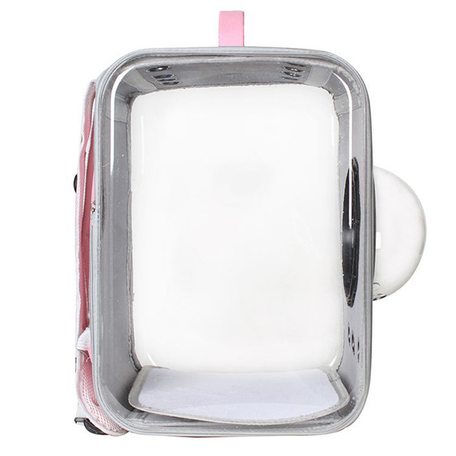Cat Carrier Backpack Breathable Pet Travel Kennel 4
