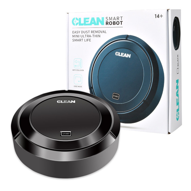 Creative Automatic  Sweeping robot vacuum cleaner USB charging cordless vaccum clean vacum cleaner wireless robot vaccum robots