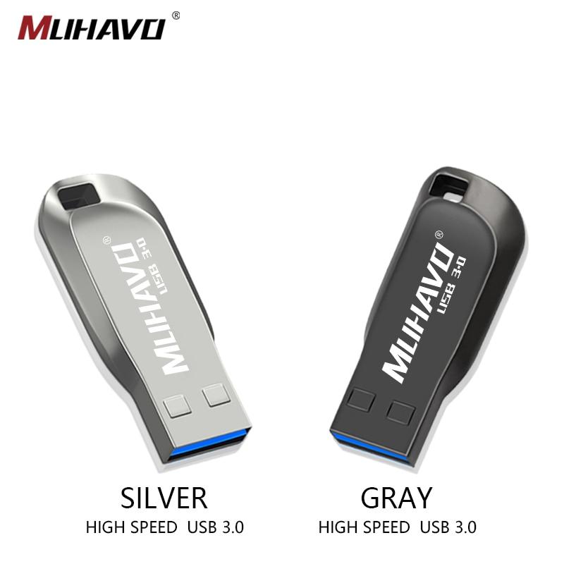 High Speed USB 3.0 Metal Flash Drive 128GB 16GB Waterproof Memory Stick 32GB 64GB Pendrive 8GB Usb Flash Drive Usb Memoria