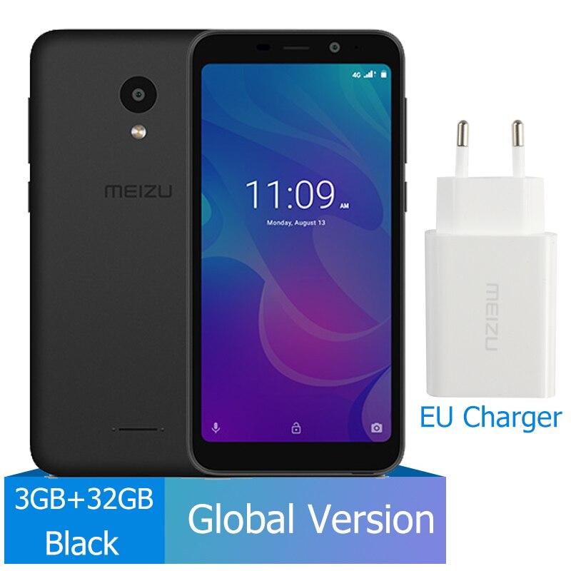 Meizu C9 Pro, 3 ГБ, 32 ГБ, глобальная версия, мобильный телефон, четырехъядерный, 5,45 дюймов, 1440X720 P, фронтальная, 13 МП, задняя, 13 МП, аккумулятор 3000 мАч - Цвет: 3GB 32GB Black