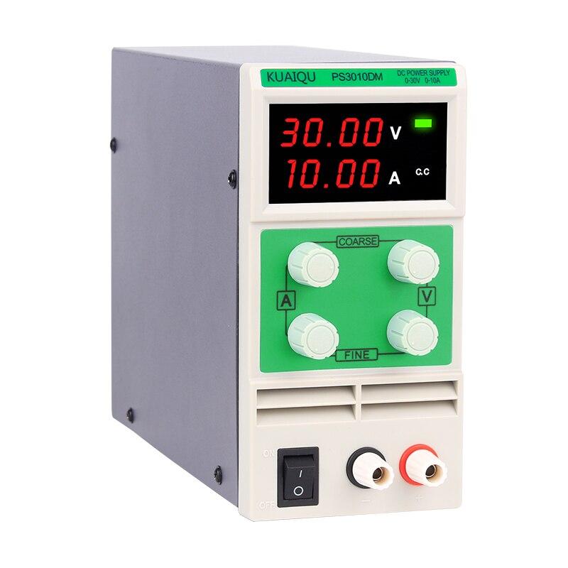 PS3010DM 30V10A Цифровой Регулируемый мини-импульсный лабораторный стенд с четырьмя дисплеями, Регулируемый источник питания постоянного тока