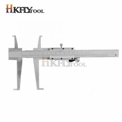 9-150mm Knife-point Inside Groove Vernier Caliper with Double Claw Professional Inner Vernier Calipers Accuracy Measuring Tools
