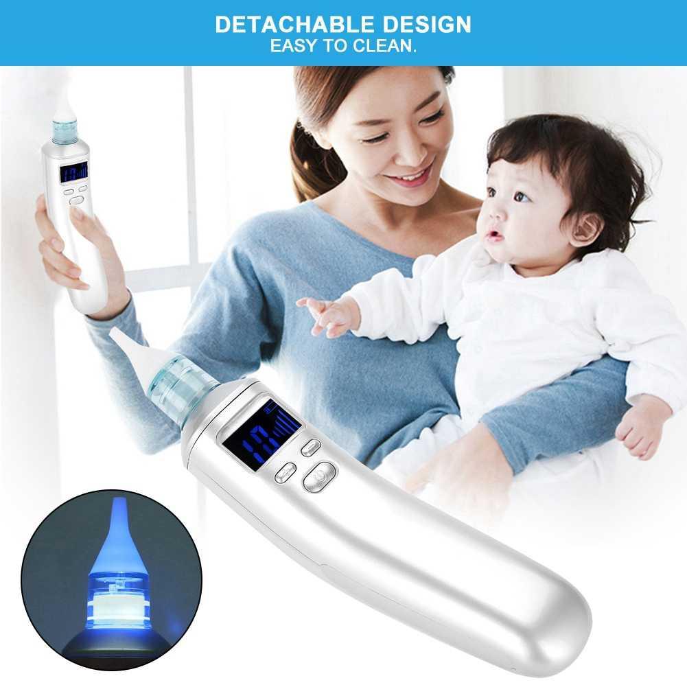 ベビー鼻鼻くそクリーナースニッフィング機器子供のための鼻吸収電気シリコーンベイブ鼻吸引装置