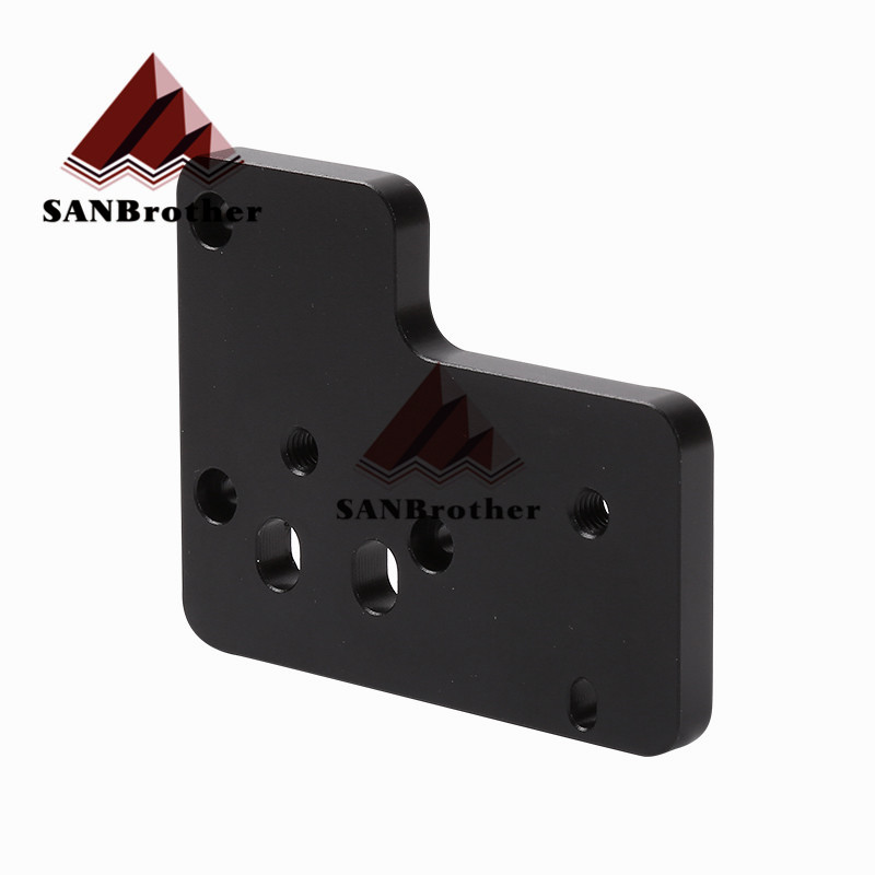 3D BMG plate for Creality CR-10 Ender-3 BMG Extruder Direct Drive Extruder