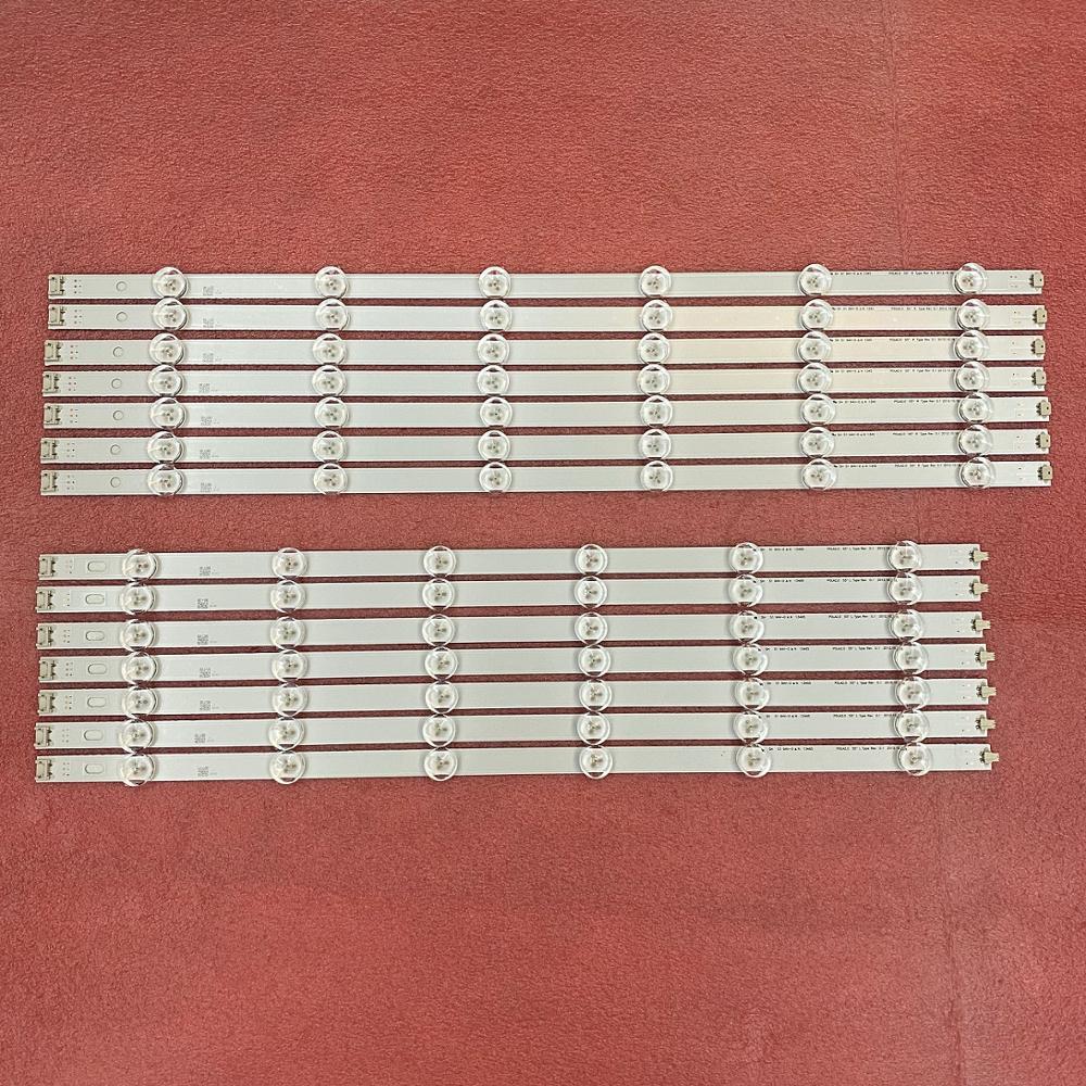 14 PCS LED Backlight Strip For LG 55LN5400 55LA6200 55LN6200 55LA6130 55LN5700 Innotek POLA2.0 55 Pola 2.0 R L 55LA6205 55LA6210