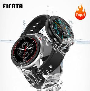 Image 1 - Смарт часы FIFATA для мужчин и женщин, умные часы DT78 с пульсометром, тонометром, кислородом, PK Huawei GT 2, Amazfit GTR