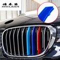 Автомобильный Стайлинг для BMW X1 E84 F48, аксессуары, передняя решетка радиатора для М, спортивные полосы, чехлы для гриля, декоративная крышка, р...