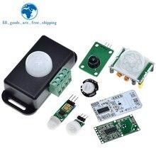 HC-SR501 HC-SR505 AM312 SR602 HW-MS03 Adjust IR Pyroelectric Infrared Mini PIR module Motion Sensor Detector Module For Arduino