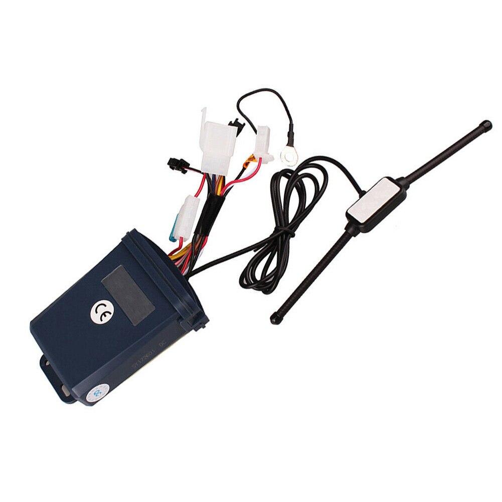 SPY LCD Display Security 5000M ABS Sound Motorcycle Alarm Set Two Way Microwave Sensor Remote Start Motorbike Universal Burglar|Motorcycle Burglar Alarm|   - title=