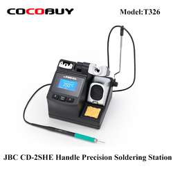 CD-2SHE JBC 220V 110v z T210-A do telefonu komórkowego do naprawy płyty głównej narzędzie spawalnicze stacja uchwyt precyzyjna stacja lutownicza