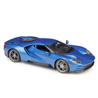 Maisto 1:18 Diecast Car 2017 Ford GT Model Metal Alloy High Simulation Cars With base Boys Toys Vehicles Gifts For Boy Men