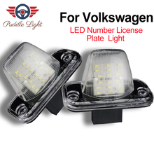 цена на LED License Number Plate Light Lamps For VW Transporter T4/Caravelle MK4/Multivan MK4/Caravelle Passat/Eurova