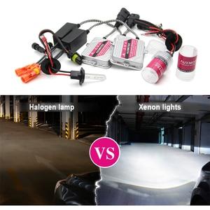 Image 5 - 55W HID Xenon H7 H1 H3 H11 Kit 4300K 6000K 8000K 10000K Car Xenon Headlight 9005 HB3 9006 HB4 Error Free Slim HID Xenon Kit