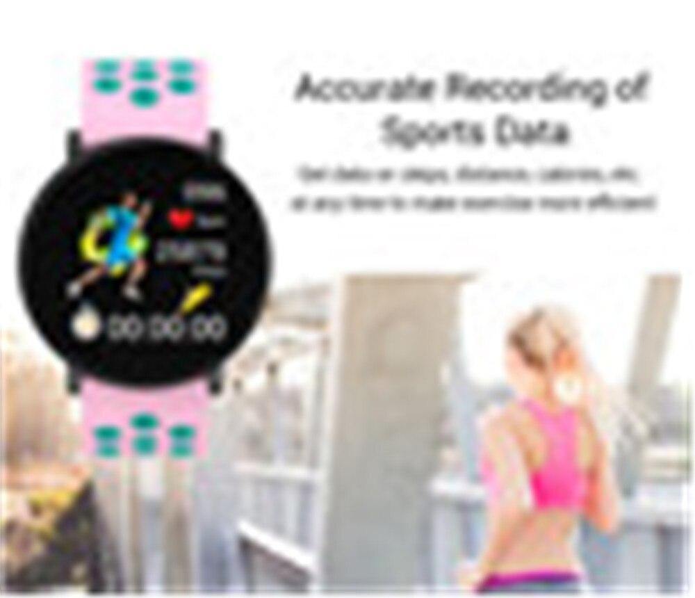 H5adc74fedca24e86988033f9c35c3555w Fitness Bracelet 1.3'' Screen Smart Bracelet Blood Pressure Heart Rate Monitor Fitness Tracker Waterproof Ip67 Smart Band Watch