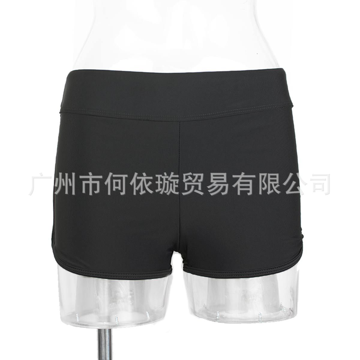 2020 Bathing Suit Europe And America Hot Selling Classic Swimming Trunks Black And White With Pattern Large Size Plus-size Cloth