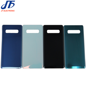 """Image 3 - 10Pcs Back Glass Replacement For Samsung Galaxy S10 6.1"""" /S10 Plus S10+ 6.4"""" / S10E Battery Cover Rear Door Housing Case single"""