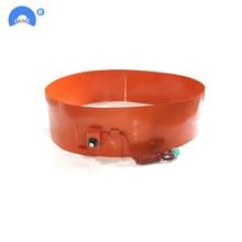 1740X125mm 1000W 110V/220V Silicone Rubber 200L Drum Heating Belt