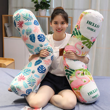 Soft Stuffed Pillow Animal Long Bolster Plushie Toys Kid Adult Sleeping Friend Gift Kawaii Plush Cute for Girls Gifts