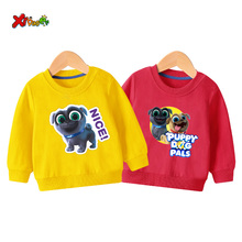 купить baby sweatshirt hoodies girls Cartoon long sleeves children white sweatshirt for boys clothes 6 years cute long sleeves children по цене 336.73 рублей
