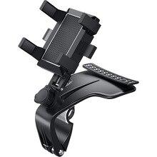 Neue 360 Grad Auto Telefon Halter Universal Smartphone Steht Auto Rack Dashboard Unterstützung für Auto Grip Handy Feste Halterung