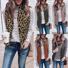 Женский зимний двусторонний пушистый двусторонний ветрозащитный жилет, пальто, женская верхняя одежда без рукавов, уплотненный теплый жилет с карманами, куртка