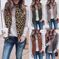 Femmes hiver bidirectionnel moelleux réversible coupe-vent gilet manteau 2019 Lady vêtements sans manches épaissir chaud poche gilet veste