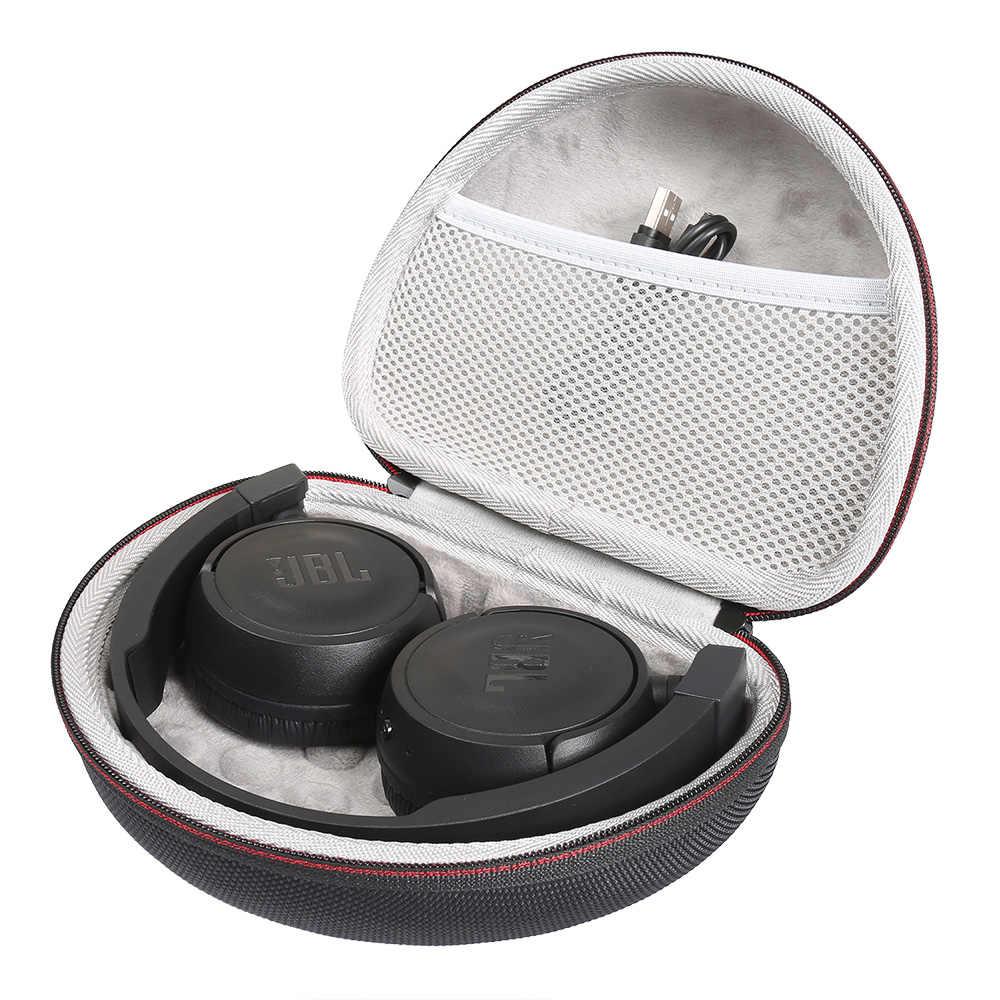 2020 nowa twarda obudowa EVA dla JBL T450BT słuchawki bezprzewodowe Box futerał do przenoszenia Box przenośna pamięć masowa pokrywa dla JBL T500BT słuchawki