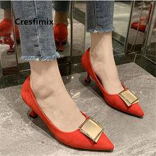 Moda feminina de alta qualidade preto bombas salto alto feminino primavera doce vermelho deslizamento em sapatos de salto alto sapatos bonitos sapatos azul e9024