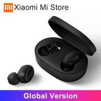 Global Version Xiaomi Redmi AirDots Wireless Bluetooth 5.0 In Ear stereo bass Earphones Charging AI Control Mic Handsfree Earbud