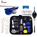 RUIPAI 406pc профессиональный набор инструментов для ремонта часов  инструменты для часов  включая пресс для часов Пружинные стержни замена бата...