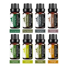 8Pcs 10ml Gift Box Set Essential Oils 100% Pure Therapeutic Grade Lavender Peppermint Natural Plant Aromatherapy Rose free shipping wis lavender essential oils 10ml 100