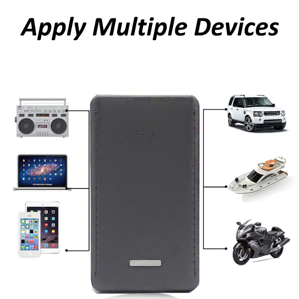 New Style 12V 8000mAh Mini Portable Multifunctional Car Jump Starter Power Booster Battery Charger Emergency Start Charger Tools