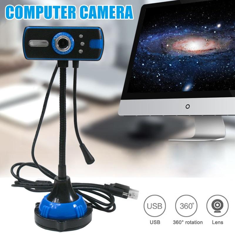 PC Webcam 480P Full HD Webcam USB Laptop Desktop Webcam Live Streaming Webcam with Microphone VH99