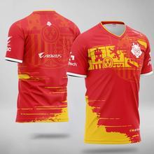 Camisa uniforme da equipe de esports g2 camisetas oversize bonés perkz fãs tshirt moletom das mulheres dos homens personalizado id streetwear topos roupas