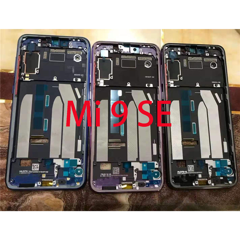 Original For Xiaomi Mi 9 SE Front Housing Chassis Plate LCD Display Bezel Faceplate Frame