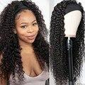 AIMISI парик с головной повязкой небольшая волнистая длинные вьющиеся волосы из синтетического волокна синтетические парики Для женщин парик...