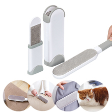 Pet hair remover magic fur cleaning brush portable brush electrostatic water catcher clothes fluff remover hair removal brush nature hair flat fluff powder brush