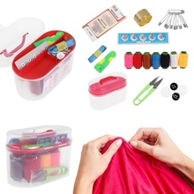 Portable Mini Travel Household Sewing Accessories Practical Needle Thread Box Suit