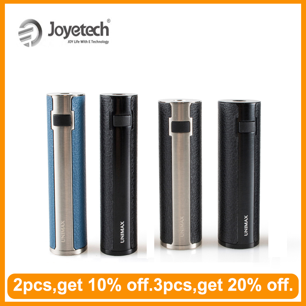 [RU/ES]Original Joyetech Unimax 22 Battery/Unimax 25 Battery Built In 2200mAh/2500mA Box Mod Electronic Cigarette