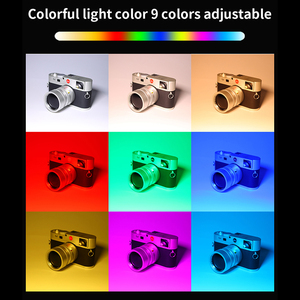 Image 4 - ULTRA Bright Diammable RGB LED Light เติมแสง 3200 K 5600 K ถ่ายภาพ DSLR พร้อม Mini Tripod โทรศัพท์ Mount Kit