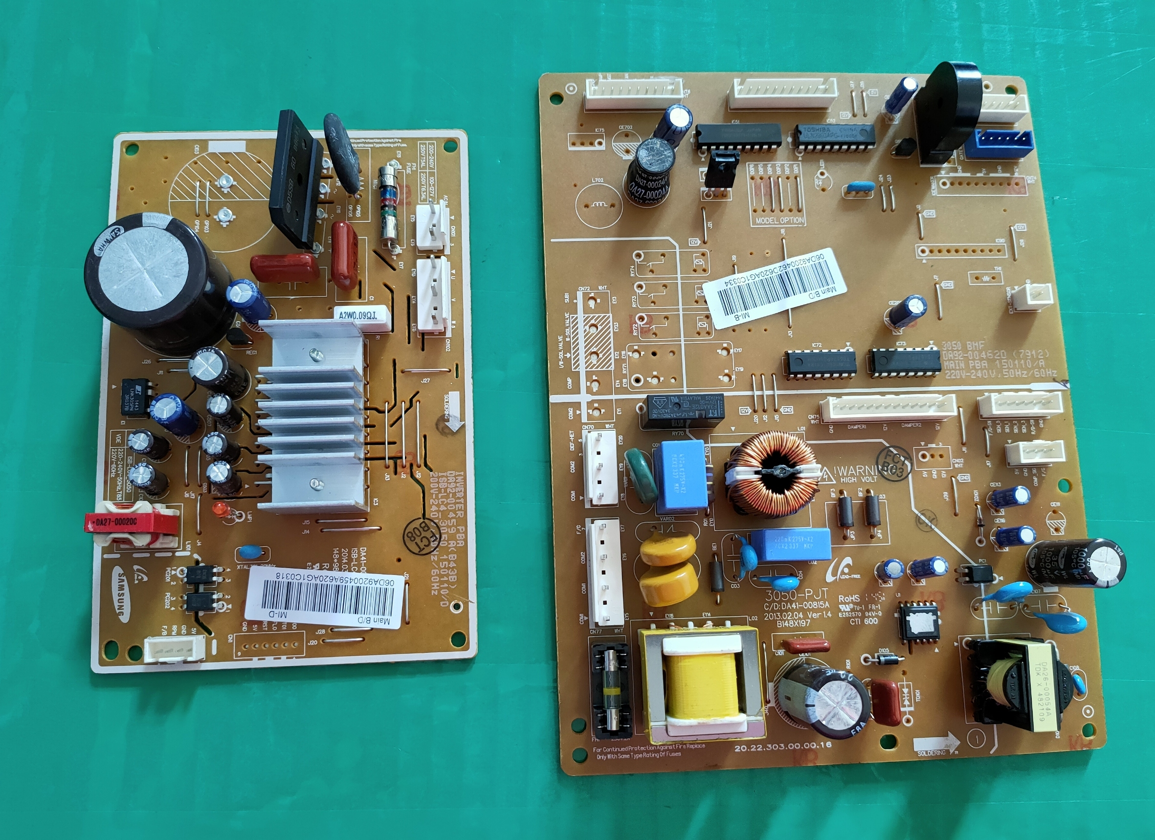 Temperate Good Working For Refrigerator Computer Board Power Module Da92-00462d Da92-00462e Da41-00815a Bcd-304wnqisl 286wnqiss1 Board Structural Disabilities