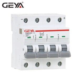 Image 2 - GEYA MCB DC 1000V MCB Mini Circuit Breaker DC 6A 10A 16A 20A 25A 32A 40A 50A 63A 4 Poles IEC60947
