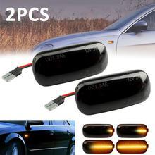 2pcs LED Side Marker Light Turn Signal Lamp for Audi a3 8v audi 8p a4 b6 b7 Car turn signal Flow CSV