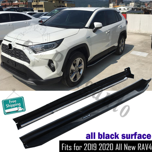 Se adapta a Toyota RAV4 RAV 4 2019 2020 tablero para correr Nerf bar 2 uds protector de pedal lateral de aluminio izquierdo derecho