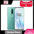 Instock Globale Rom Oneplus 8 5G Smartphone Snapdragon 865 Octa Core 48MP Triple Kamera 6.55